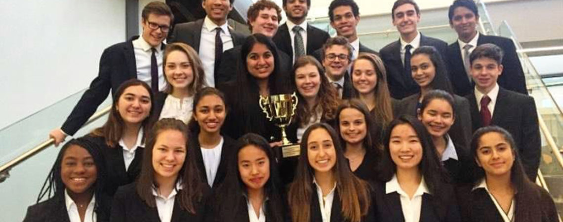 Wyoming Seminary Mock Trial Returns from Invitationals